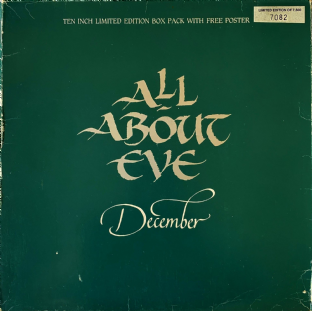 "All About Eve ‎- December (10"") (Ltd Box Pack) (VG-/G+)"